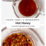pinterest graphic of Hot Honey