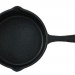 photo of a mini cast iron pan