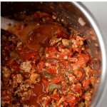 Pinterest Graphic of Instant pot Turkey Chili