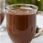 Pinterest Graphic Dairy-Free Hot Chocolate