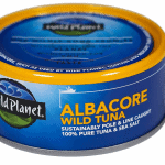 photo of a can of wild planet tuna