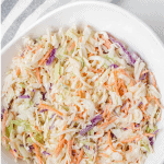 Pinterest graphic for whole30 coleslaw