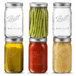 amazon image of wide mouth mason jars